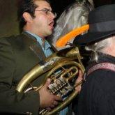 Free Range Orkestar Providing Marching Music