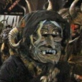 Frau Perchta at Krampus Walk