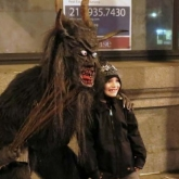 Krampus Borfo at Krampus Walk