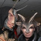 Krampus Rude and Colette