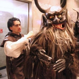 Krampus Ridenour Suits Up