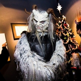 Krampus Reynard has an eye for art.
