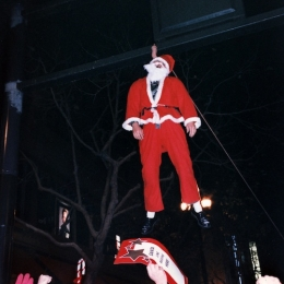 Santa lynching, SantaCon 1995, SF