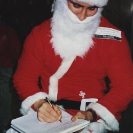 Chuck Palahniuk at SantaCon 1996, Portland