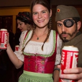 Austrian Beer and Costumes
