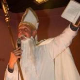 "Bob Moss as St. Nicholas: \""Release the Krampus!\"""