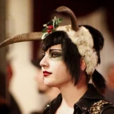 Holly Eslick at Krampus Ball