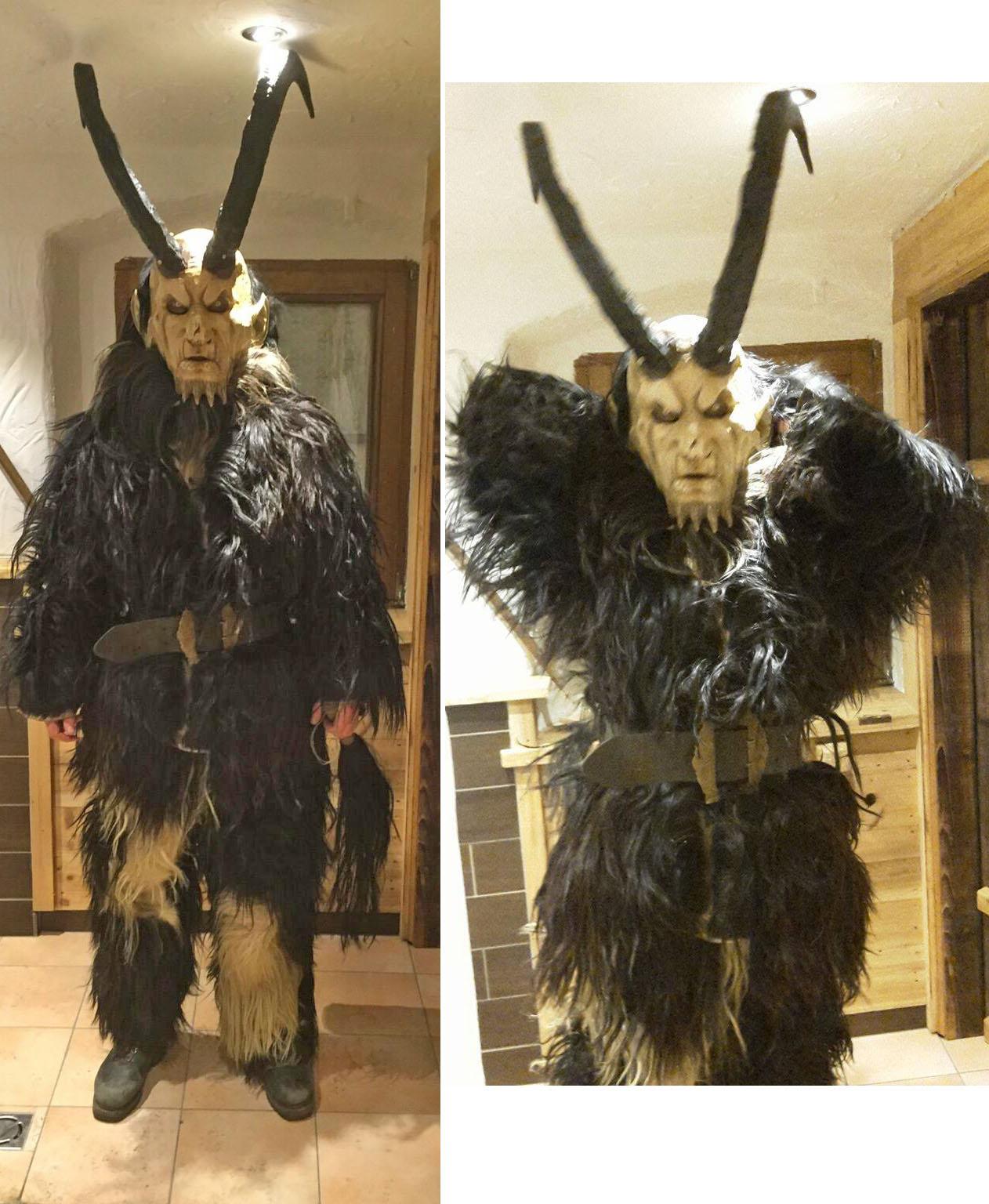 Goat hide suit.  $380