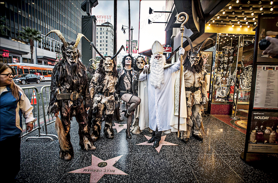 Moorpass from Austria on Hollywood Walk of Fame. Photo; Vern Evans (vernevansphoto.com)