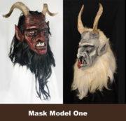 Variations on mask Model 1.