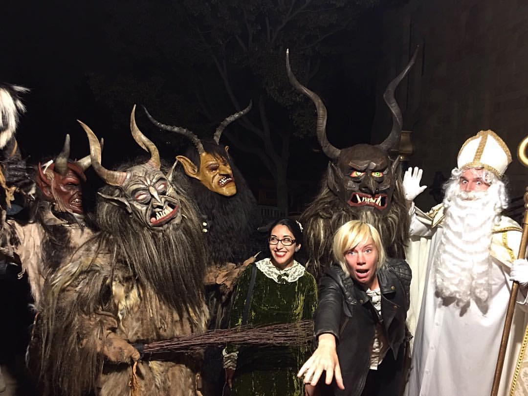 Krampus Los Angeles | The European Christmas Devil runs amok on LA ...